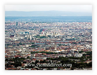 Vienna from the Kahlenberg
